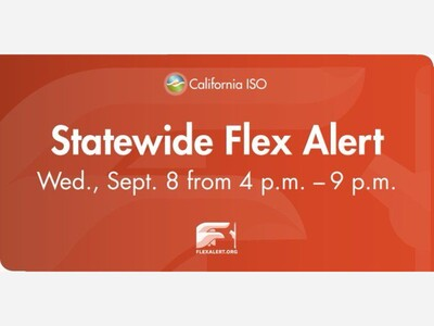 Flex Alert Issued for Wednesday Due to Heat and Tight Power Supply