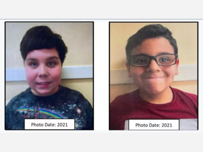 One of Two Missing Boys Found